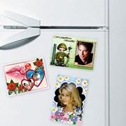 Магниты с Вашим фото на холодильник фото