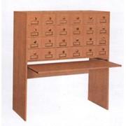 Корпусная мебель для библиотек фото