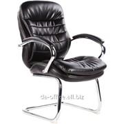Конференц EasyChair 515 VR рециклированная кожа черная, 322951 фото