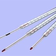 Термометры жидкостные стеклянные прямые и угловые. фото