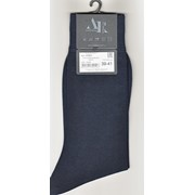 Носки мужские Andrea Rinaldi арт. K7001 100% мерсеризованный хлопок (Италия) синий фото