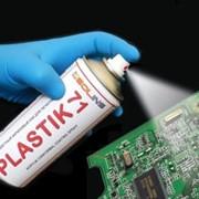 Лак-спрей PLASTIK-71, 200мл прозрачное защитное покрытие для печатных плат и электронных компонентов фото