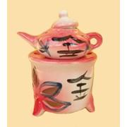 Аромалампа керамическая Арома чайник фото