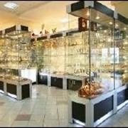 Мебель торговая, витрины, витражи, дизайн фото