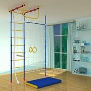 Детский спортивный комплекс Самсон-2.2 Г с сеткой + стойка фото