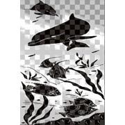 Обработка пескоструйная на 2 стекло артикул 101-08 фото