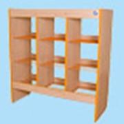 Шкаф-стеллаж для горшков на 12 мест фото