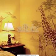 Художественная роспись стен и потолков фото