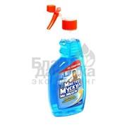Моющее средство для стекла Mr.muscle спрей синий 500 мл 34255 фото