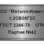 Таблички металлические на самоклеющейся основе фото
