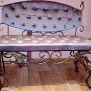 Кованая мебель. фото
