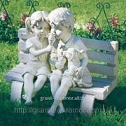 Садовая скульптура из гранита и мрамора 1 фото