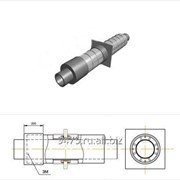 Опора неподвижная диэлектрическая стальная в оцинкованной трубе-оболочке с металлической заглушкой изоляции d=273 мм, s=7 мм, L=210 мм фото