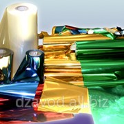Пластиковая металлизированная плёнка ПВХ фото