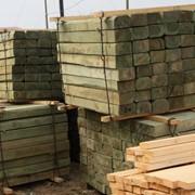 Шпалы деревянные пропитанные Элемсепт Ултан тип II фото