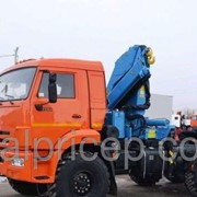 Автомобиль Камаз 53504-6020-46 с КМУ 6 тн АНТ 12-2 длина стрелы 8 метр фото