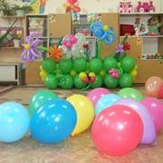 Детский день рождения, день рождения, организация, проведение детских праздников, детский праздник, организация детских праздников, услуги, аниматор, изготовление букетов из шаров, шары, шарики фото
