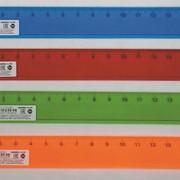Линейка 16 см цветная прозрачная (Проф-Пресс) фото