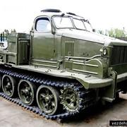 Тяжёлый артиллерийский гусеничный неплавающий тягач высокой проходимости АТ-Т фото