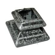 Чашка-стойки КС высокая текстурный чёрный с серебром кв14, артикул 14127 фото