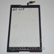 Оригинальный тачскрин / сенсор (сенсорное стекло) Lenovo Tab 2 A8-50 A8-50F A8-50L A8-50LC черный Goodix+СКОТЧ фото