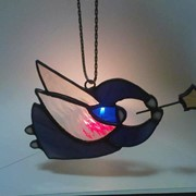 Витражные панно. Авторские сувениры ручной работы из художественного стекла. фото
