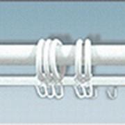 Карниз круглый алюминиевый фото