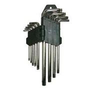 Ключи TORX Т/ТН 10-50, 9шт. FT-008 короткие 44353 фото