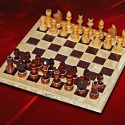 Шахматы обиходные фото