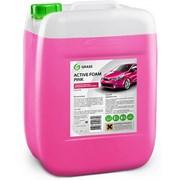 Автохимия GRAS «Active Foam Pink» цветная пена, 1л фото