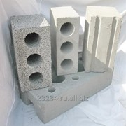 Фундаментный керамзитобетонный блок 2400 х 400 х 600 мм фото