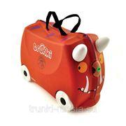 """Детский чемодан Trunki Gruffalo и книга """"Груффало"""" (Детские чемоданы Trunki)"""
