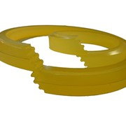 Полиуретановая манжета уплотнительная для штока 028-036-6,3 фото