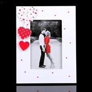 Фоторамка Сима 10*15 дерево Сердечки любви