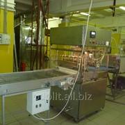 Комплект оборудования для глазирования кондитерских изделий с шириной конвейера-400 мм фото