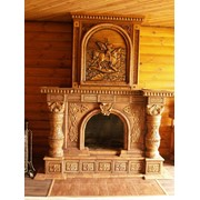 Камин старославянский фото