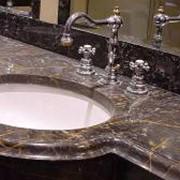 Столешницы в ванную фото