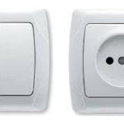 Выключатель 2кл. 10А КВАРТА 200 ВС 10-2-0-КБ фото