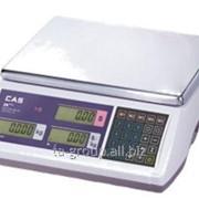 Весы торговые ER PLUS-15C 15кг/2г/5г фото