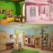 Детская мебель в ассортименте фото