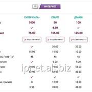 Тарифы для физ.лиц Интернет от IPnet™ фото