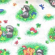 Фланель детская белоземельная 0,75 Красная Талка фото