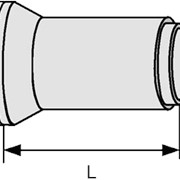 Труба железобетонная безнапорная Т 40.50-2 фото