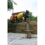 Товарный бетон М-200 В15 фото