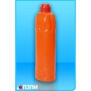 Пластиковый флакон под средства для прочистки труб Ф3 фото