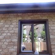 Фасадные панели Бутовый камень фото