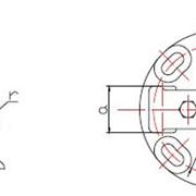 Опорный зажим для двух проводов (типа ОЗП2) фото