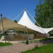Выставочный павильон, шатёр для торжеств, свадебный шатёр. фото