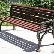 Мебель садово-парковая фото
