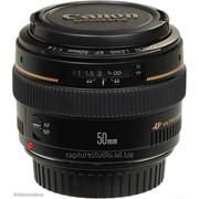 Аренда объектива 50mm Canon 1.4 от 360 тг./час фото